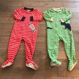 Toddler Footed Pajamas Bundle